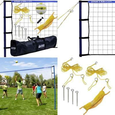 Portable Outdoor Volleyball Net System Park And Sun Sports Spiker Sport 1-1/2