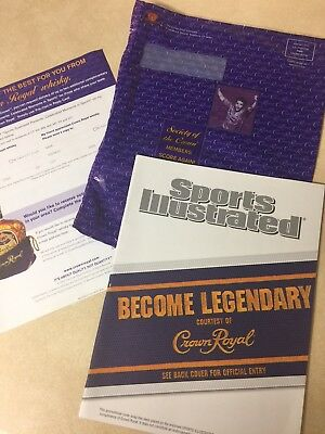 Crown Royal Sports Illustrated Moments In Sports Magazine