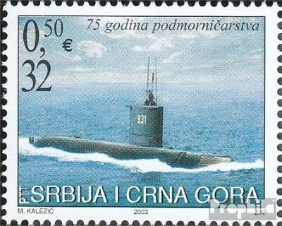 Yugoslavia 3168 (complete.issue.) unmounted mint / never hinged 2003 Unterseeboo