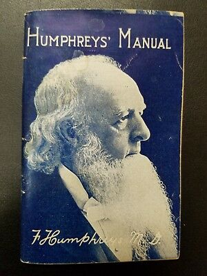 Vintage Humphreys' Manual for the Administration of Medicine 1927