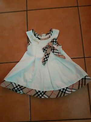 Burberry Baby Dress 0-6 Months