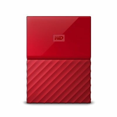 WD WDBYFT0040BRD-WESN My Passport 4 TB External Hard Drive - Portable - USB 3.0