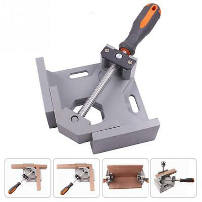 Aluminum Single Handle 90 Degree Right Angle Clamp Angle Clamp Woodworking J4S3