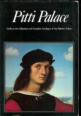 """Art Book """"pitti Palace: Guide To Collections And Catalog Of Palatine Gallery"""""""