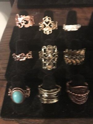 Paparazzi Rings! Brand New! Lot Of 9!!
