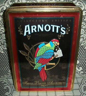 ARNOTT'S BISCUITS ROSELLA 'COLLECTOR'S EDITION' TIN *empty* 2006