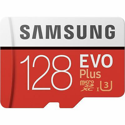 Samsung 128GB Evo Plus Micro SD Card SDXC Class 10 100MB/s Phone Memory Card