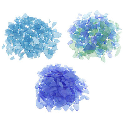 Bulk 500g DIY Crafts Sea Glass Frosted for wedding, party, shell, home decor