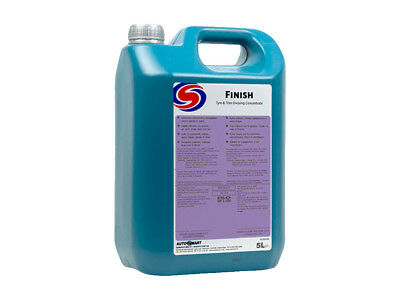 Autosmart Finish Interior Trim Tyre And Engine Dressing Shine 5L Concentrate