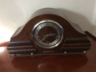 Art Deco mantle clock - fully restored to chime