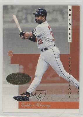 1996 Leaf Signature Series Gold Press Proof #116 Eddie Murray Baltimore Orioles