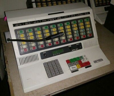 Zetron 4010 Police Fire Radio Dispatch Paging Console Station 901-9269