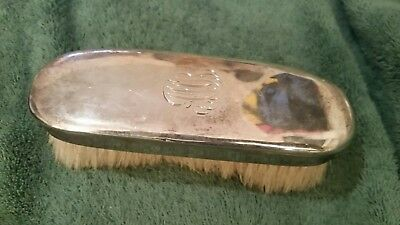 Large Tiffany & Co Makers Sterling Silver Clothes Brush mono AMB