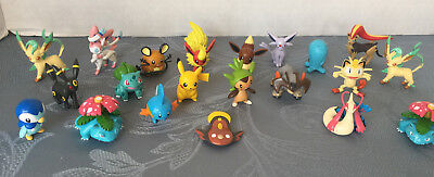 Pokemon Tomy Lot 21 Figures Legendary Terrakion Flareon Umbreon Espeon Sylveon