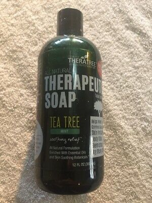 Antifungal Therapeutic Tea Tree Soap for Body by Theratree