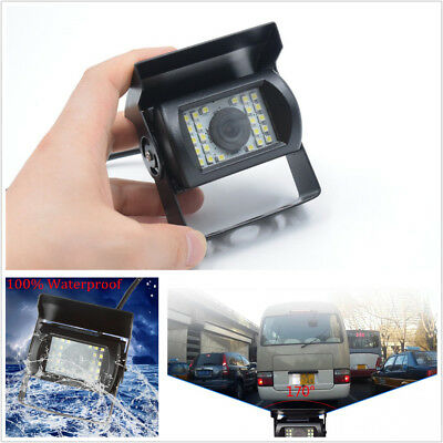 170Degree 480TVL Anti-Shock 24LED Night Vision Rear view camera BUS Truck Van