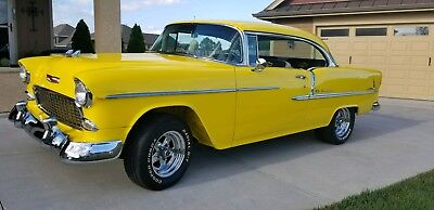 1955 Chevrolet Bel Air/150/210 2 Door Hard Top 1955 Chevy 2 Door Hard Top 502 Crate Motor. Super Clean & Fast