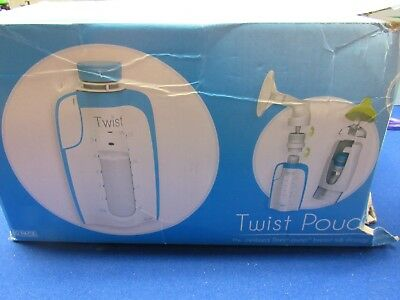 Kiinde TWIST POUCHES 6 oz 80 pouches New Sealed Free Shipping Box is damaged.