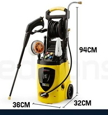 3800 PSI High Pressure Water Cleaner Washer Electric Pump Hose Gurney