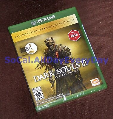 Dark Souls III 3 The Fire Fades COMPLETE Edition (Xbox One) BRAND NEW & SEALED!!