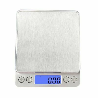 0.01-500g Digital LCD Electronic Scale Kitchen Food Balance Weight Postal Scales