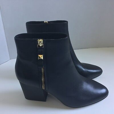 fcb993d8d4e2 KATE   SPADE NY Black leather Ankle Boots Size 7 ½ -  129.95