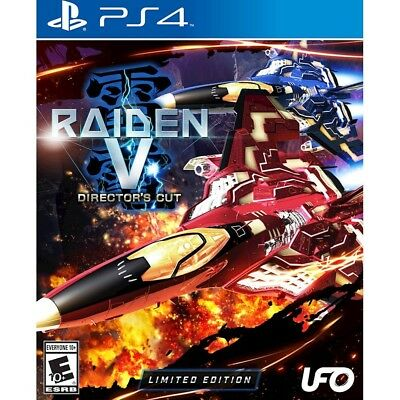 Raiden V 5 Director's Cut LIMITED Edition w/ Bonus Original Soundtrack CD! (PS4)