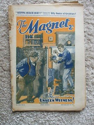 "The Magnet (Billy Bunter) - ""Keeping Quelch Quiet !"" -  Single Issue 1937"