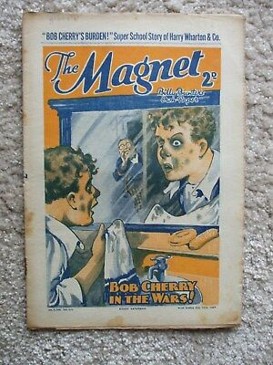 "The Magnet (Billy Bunter) - ""Bob Cherry's Burden!"" -  Single Issue 1937"