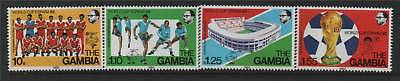 Gambia 1982 World Cup Football SG 471/4 MNH