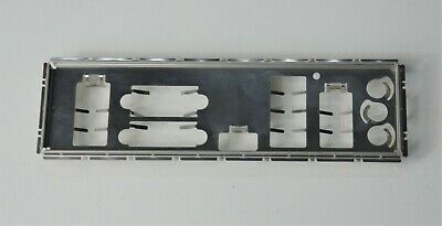 9PCS I//O Shield No Any Opening Blank Backplate For All Motherboard DIY