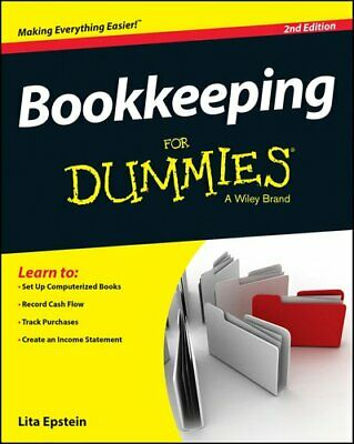 Bookkeeping for Dummies, 2nd Edition by Lita Epstein 9781118950364