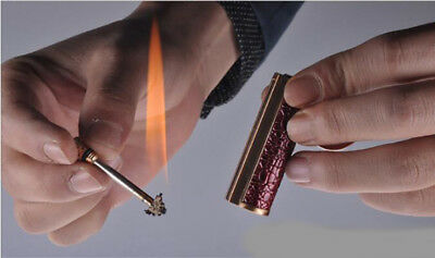 HONEST waterproof 10000 times Matches kerosene lighter Keychain fine