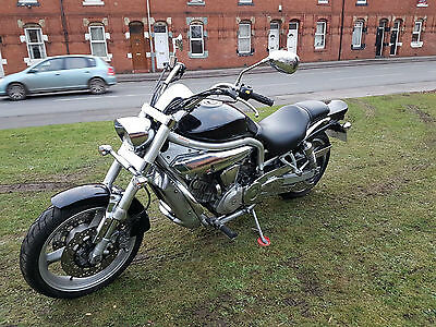 Hyosung GV 650 Custom Cruiser PX Swap UK Delivery