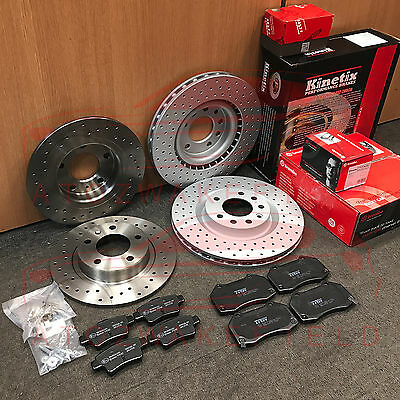 For Vauxhall Corsa 1.6 Vxr Club Sport Front Rear Performance Brake Discs Pads