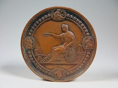 Bronzemedaille-USA 1876-International Exhibition Philadelphia-VZ-Art. 4496