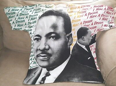 Martin Luther King Jr  L / Xxl - I Have A Dream - Wall To Wall Print  Deadstock