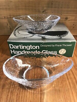 Box of2 Dartington Handmade Glass Avocado Dishes,Frank Thrower 3 boxes available