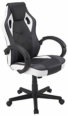 Coavas Computer Gaming Racing Chair Office High Back PU Leather Executive Swivel