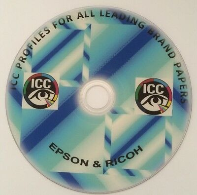 ICC PROFILES EPSON Ricoh Sublimation Colour Profiles Printing Business