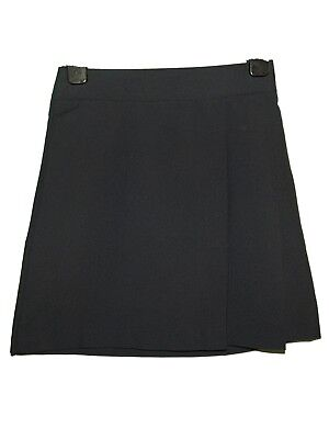 New Girls Ex Store Navy Knife Pleat Back To School Skirt Age 4-16 (P) Pleated