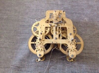 Antique Seth Thomas Clock Movement 5 7/8 Chime And Time Drive Train Look Good