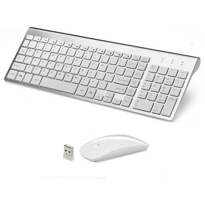 MINI WIRELESS 2.4GHZ Mouse AND Keyboard COMBO APPLE iMAC MACBOOK PRO AIR FSV Ue