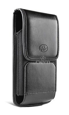 For iPhone 7 / iPhone 7 Plus Vertical Leather Case Belt Clip Holster Pouch Cover