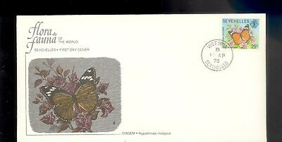 Seychelles First Day Cover Butterfly 1978