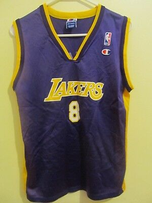af2add905 Vintage Kobe Bryant - Los Angeles Lakers jersey - Champion Youth Large