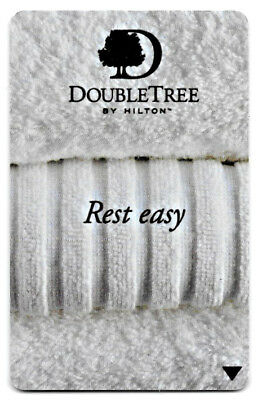 Hilton Honors Double Tree Rest Easy, Hotel Room Key Card