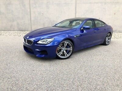 M6 Gran Coupe 2015 BMW M6 Gran Coupe like M5 650i 640i - LOW Miles -STUNNING ! BEST DEAL !