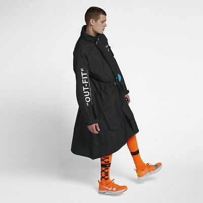 d30d8c6296d4 Nike x Off-White Parka Jacket Black Mercurial NRG World Cup Lab AA3256-010