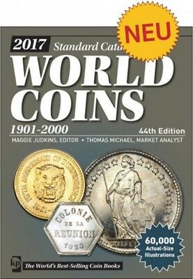 2017 Standard Catalog of World Coins 20. Jahrhundert 1901-2000, 44. Auflage 2016